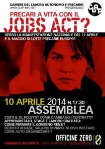 10 aprile - Jobs Act