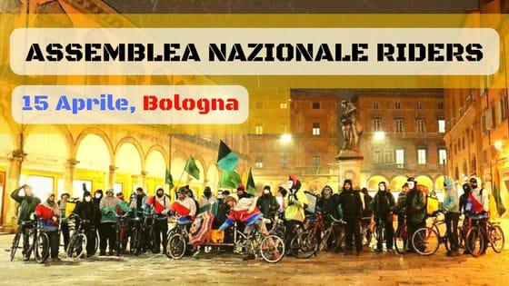 Bologna - Assemblea nazionale dei riders